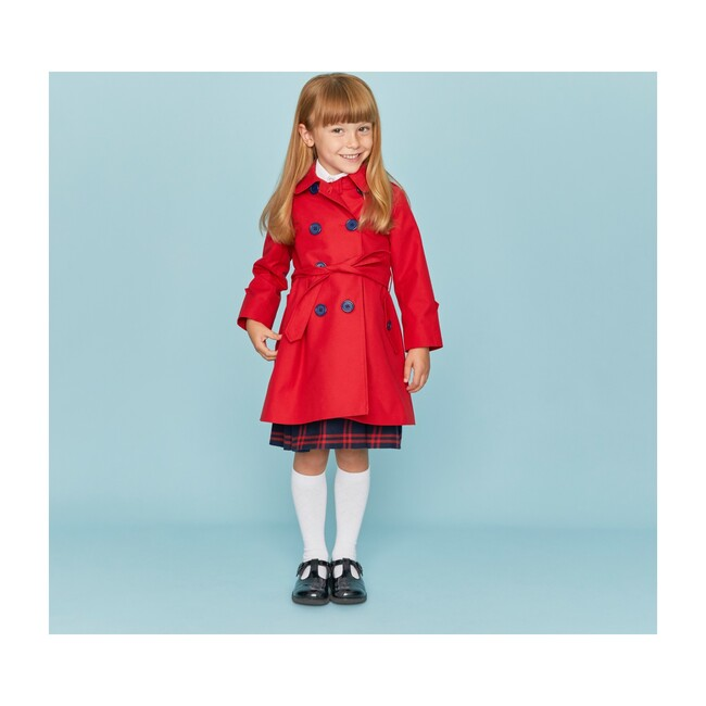 Bayswater Trenchcoat, Red