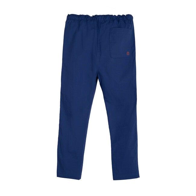 Gunnar Drawstring Pant, Ocean Blue