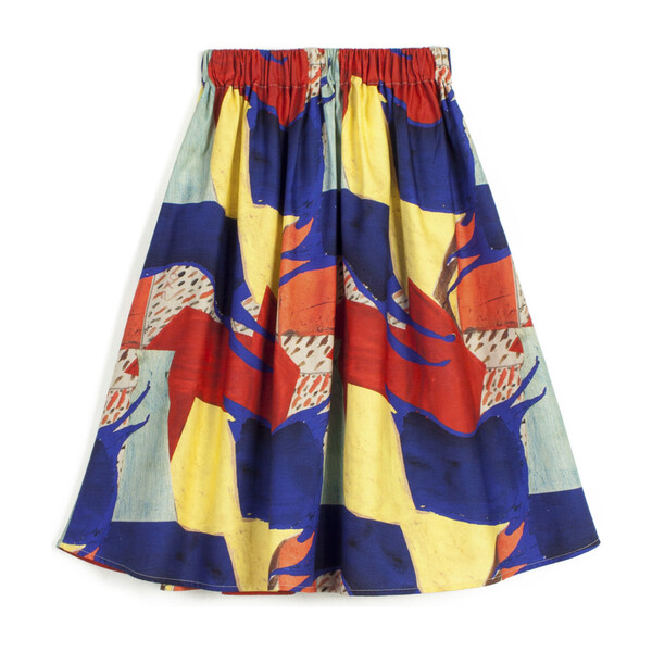 Lurdes Skirt, Yellow Scene