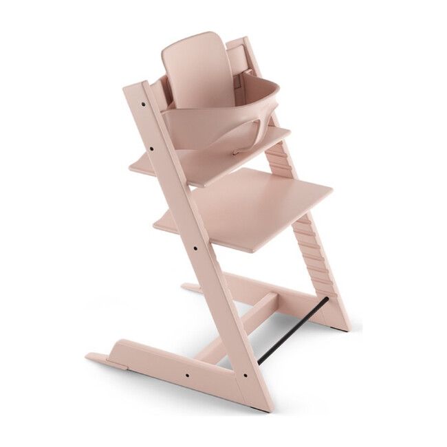 Tripp Trapp® High Chair (includes Tripp Trapp® + Baby set), Serene Pink
