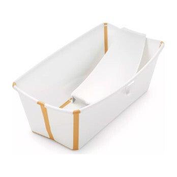 Flexi Bath® Bundle, Tub + Newborn Support, Yellow