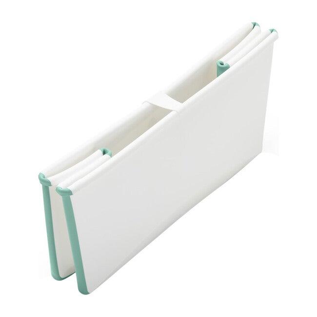 Flexi Bath® Bundle, Tub + Newborn Support, Aqua