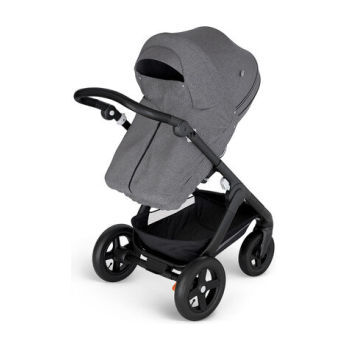 Stokke® Stroller Storm Cover, Black Melange