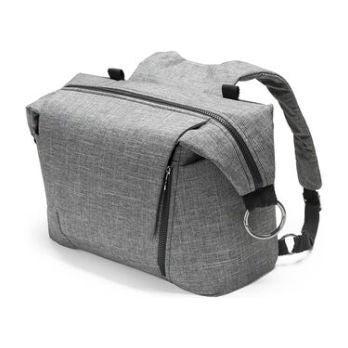 Stokke® Changing Bag, Black Melange