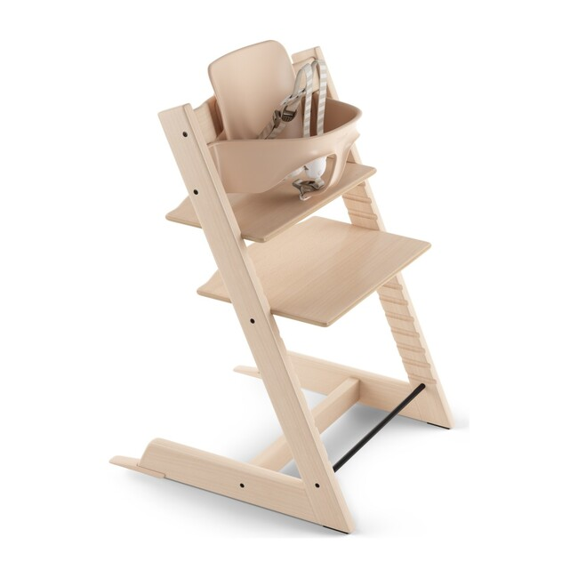 Tripp Trapp® High Chair (includes Tripp Trapp® + Baby set), Natural