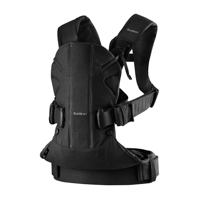 Baby Carrier One Cotton, Black