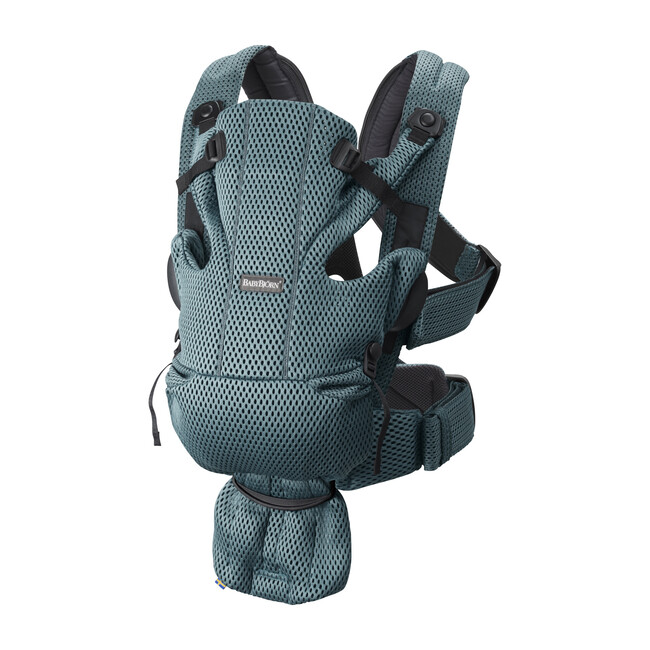 Baby Carrier Free 3D Mesh, Sage Green