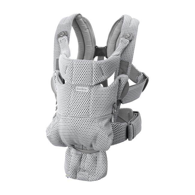 Baby Carrier Free 3D Mesh, Grey