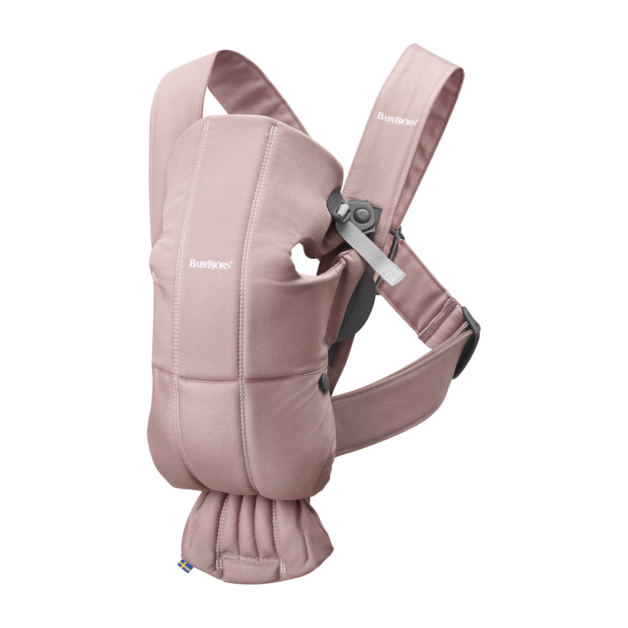 Baby Carrier Mini Cotton, Dusty Pink