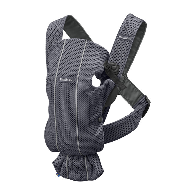 Baby Carrier Mini 3D Mesh, Anthracite