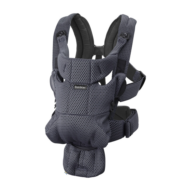 Baby Carrier Free 3D Mesh, Anthracite