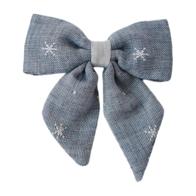 Big Sailor Bow, Chambray Stars
