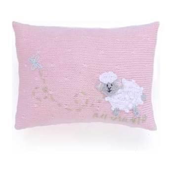 Sheep Mini Pillow, Pink