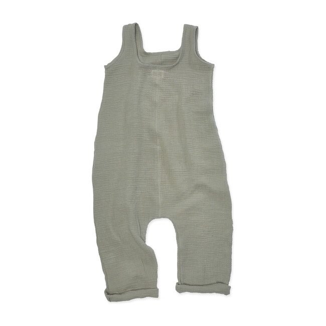Gauze Relaxed Jumper, Sage