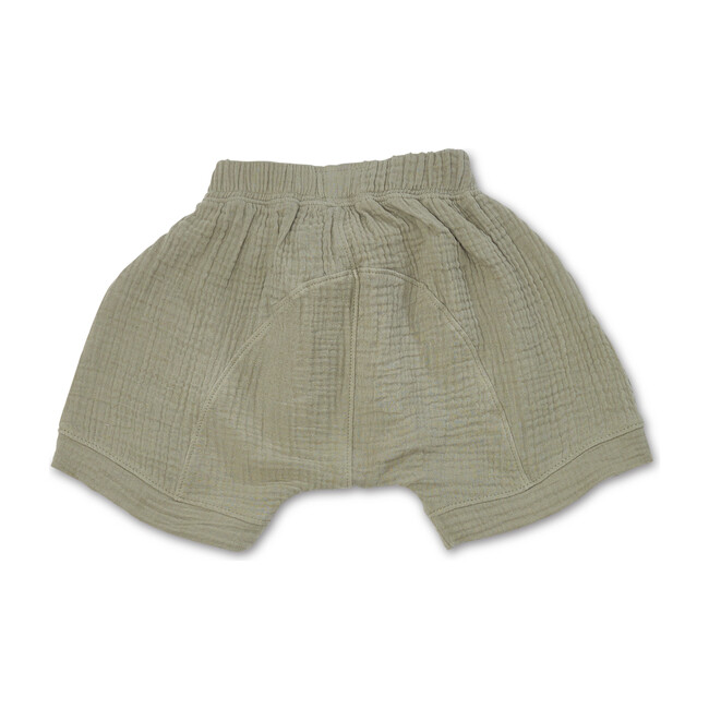 Gauze Oversized Shorts, Sage