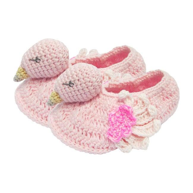Crochet Flamingo Booties - Booties - 1