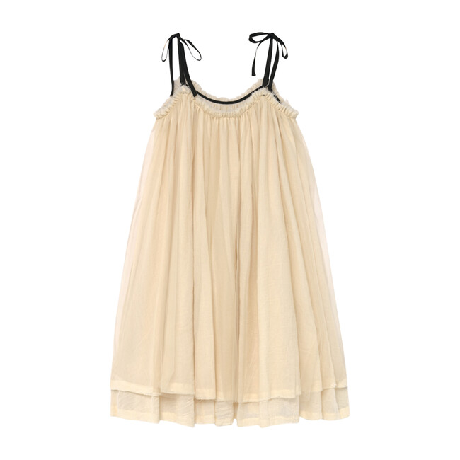 Muslin Fairy Sundress, Cream