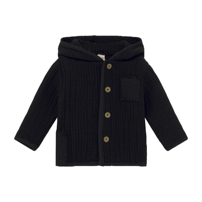 Baby Quilted Jacket, Black