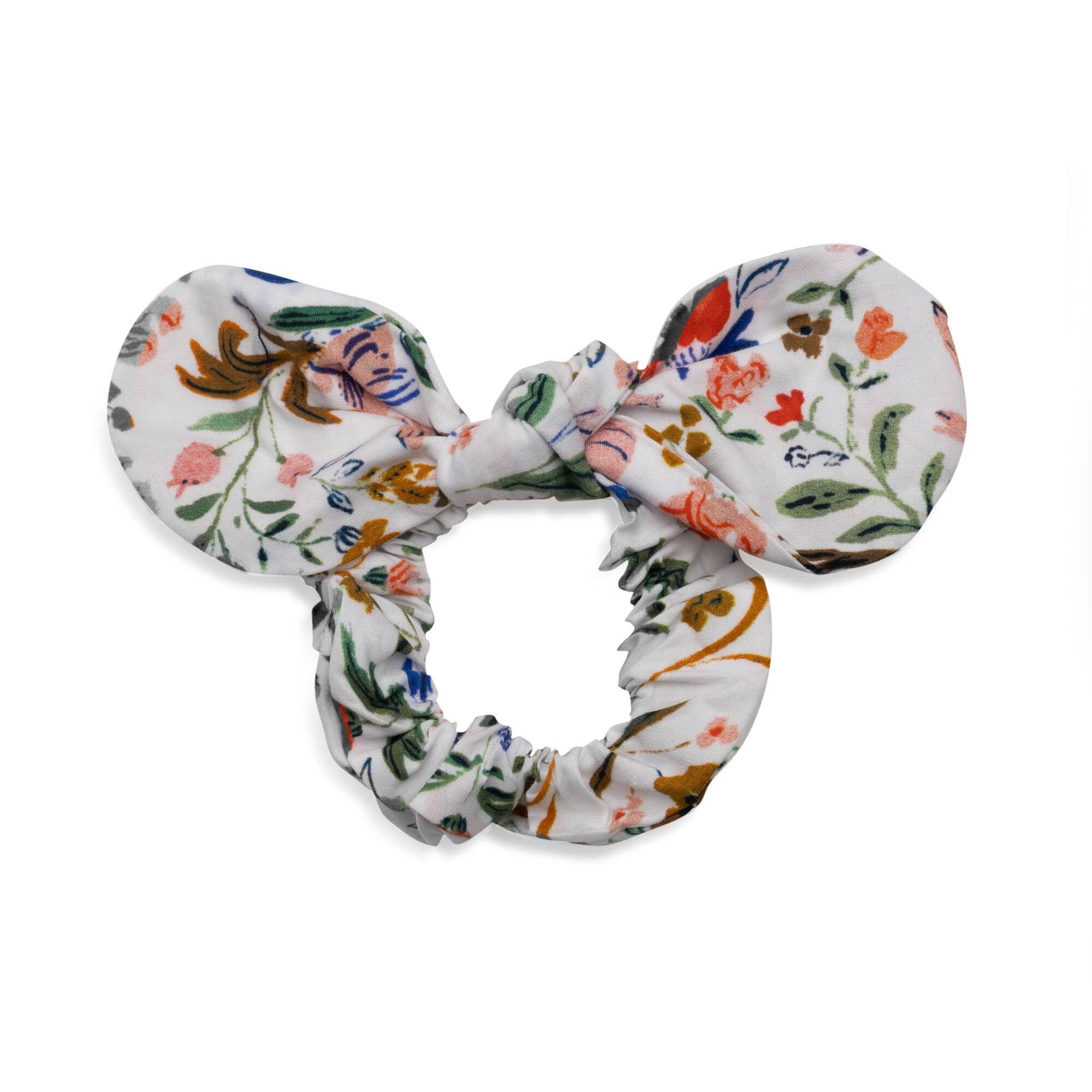 Lola Hair Tie, Flowers & Rabbits