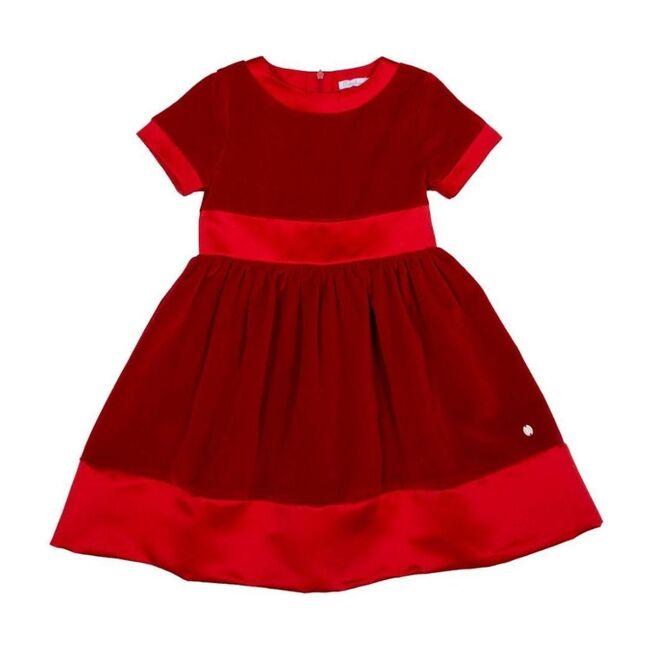 Velvet Dress, Red
