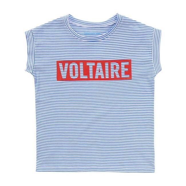 Stripe Logo T-Shirt, Blue