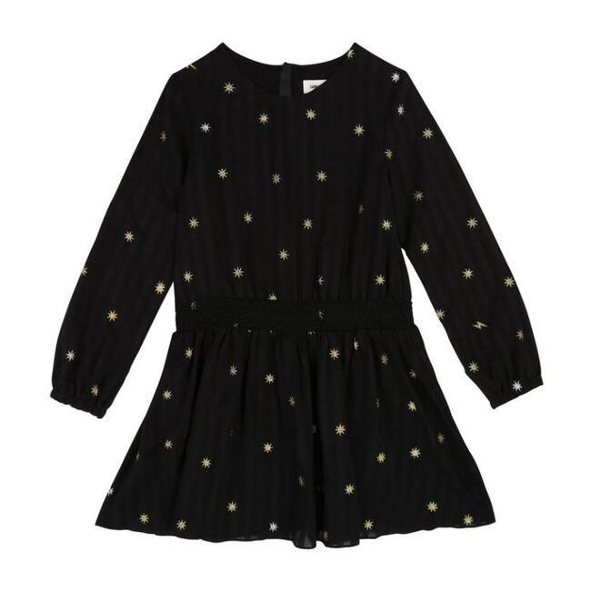 Lightweight Silk Dress, Black