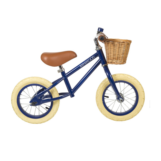 First Go! Scoot Bike, Navy - Bikes - 1