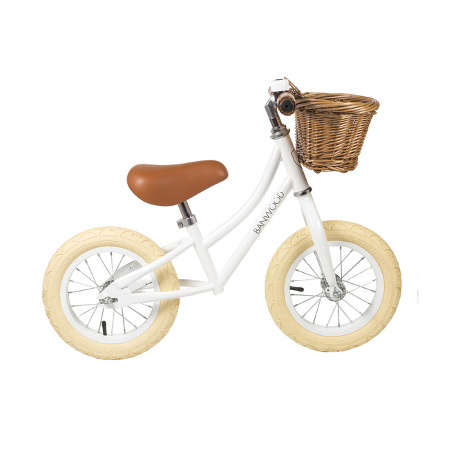 First Go! Scoot Bike, White
