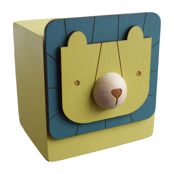 Menagerie Music Box, Yellow Lion