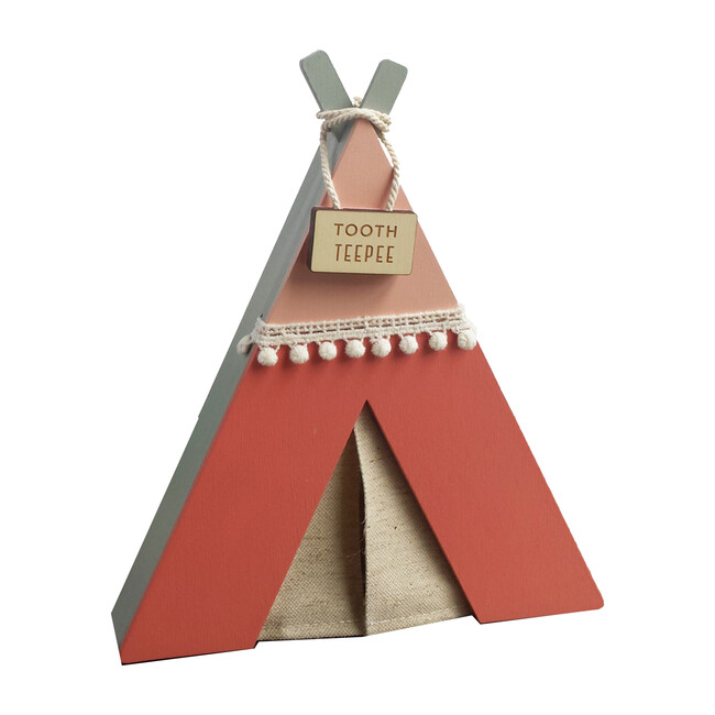 Tooth Teepee, Pink