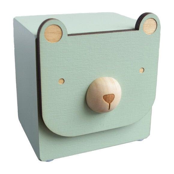 Menagerie Music Box, Mint Bear