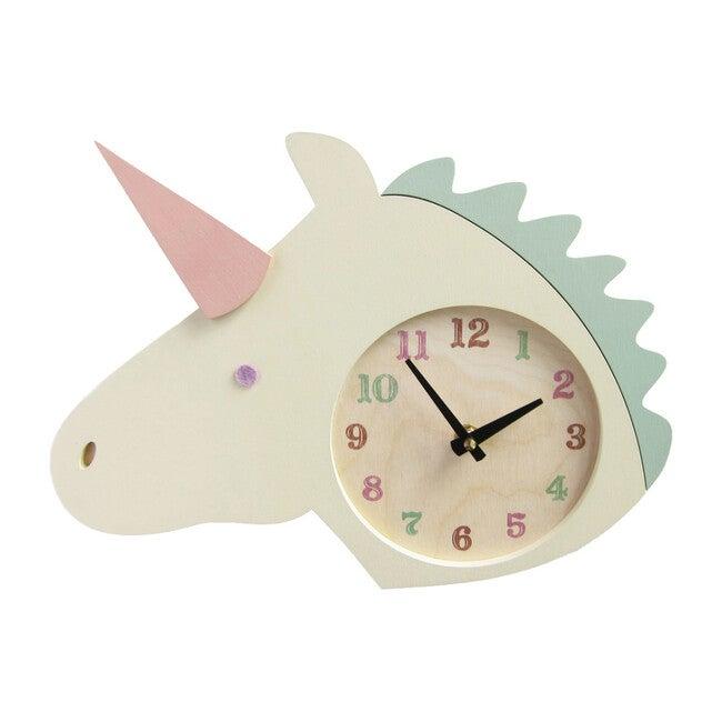 Handpainted Animal Wall Clock, Unicorn