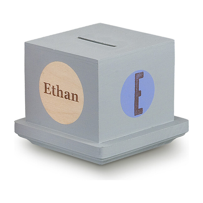 Personalized Money Bank, Blue