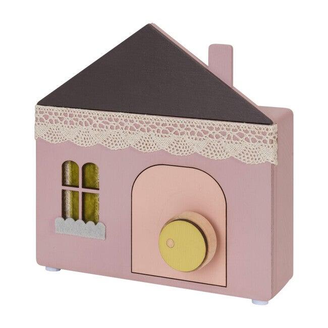 Cottage Music Box, Pink