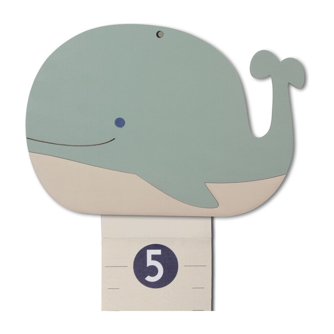 Personalized Wooden Growth Chart, Whale