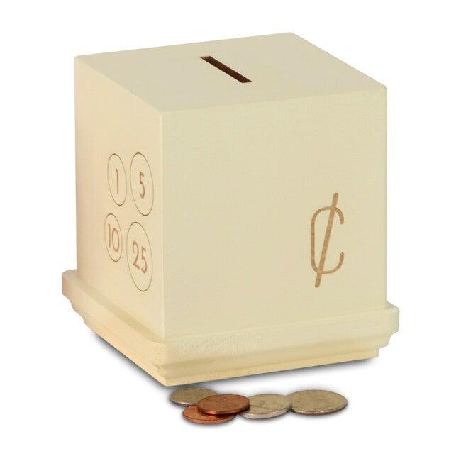 Modern Cents Bank, Cream