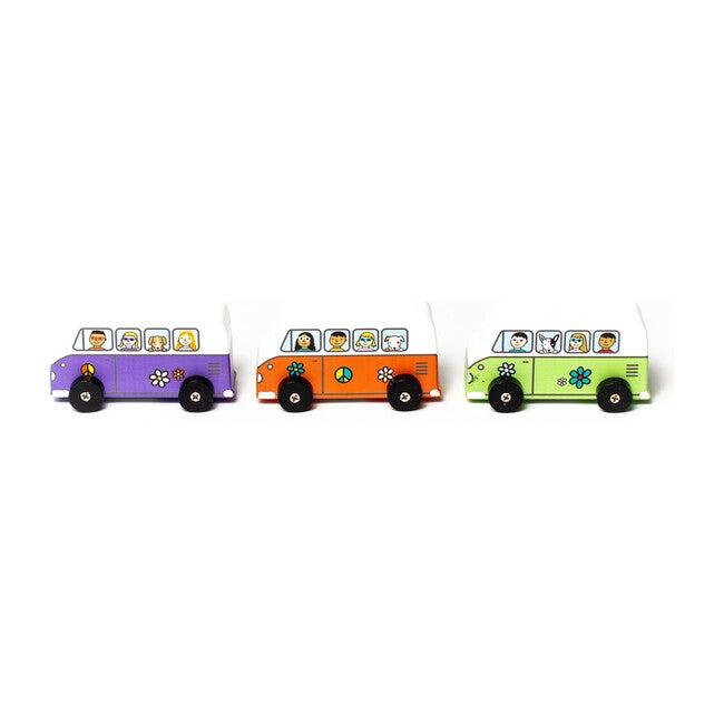 Love Bus Mini Rollers, Set of 3