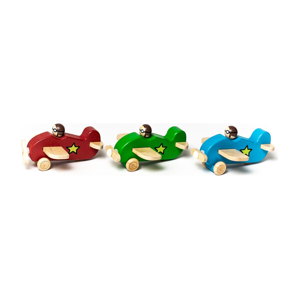 Little Wooden Planes, Set of 3