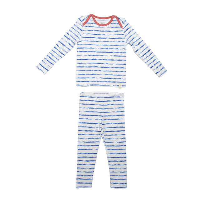 Tegan Set, Blue Stripes