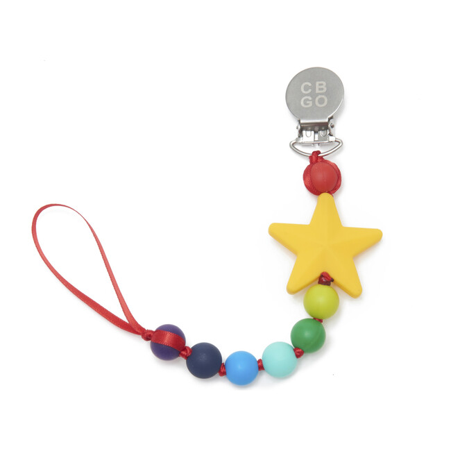 Where's the Pacifer Clip, Star - Teethers - 1