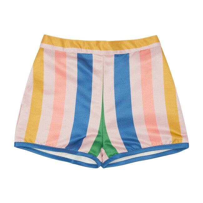 Fizzy Pop Shorts, Eau De Rose Stripe