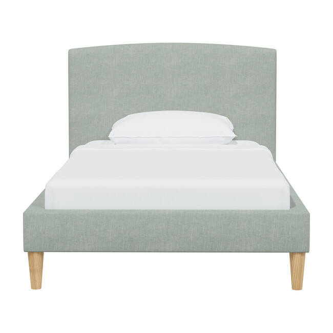 Phoenix Platform Bed, Swedish Blue Linen