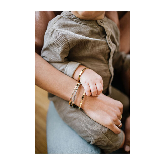 """Women's """"I Was Made For This"""" Bracelet, Gold"""