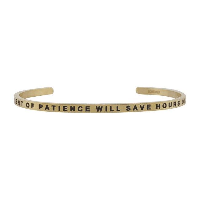 Women's Patience Bracelet, Gold