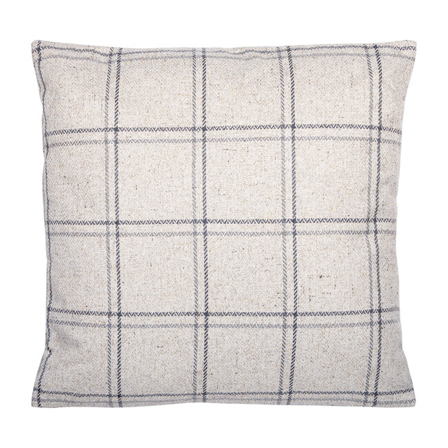Lazra Pillow, Beige/Black