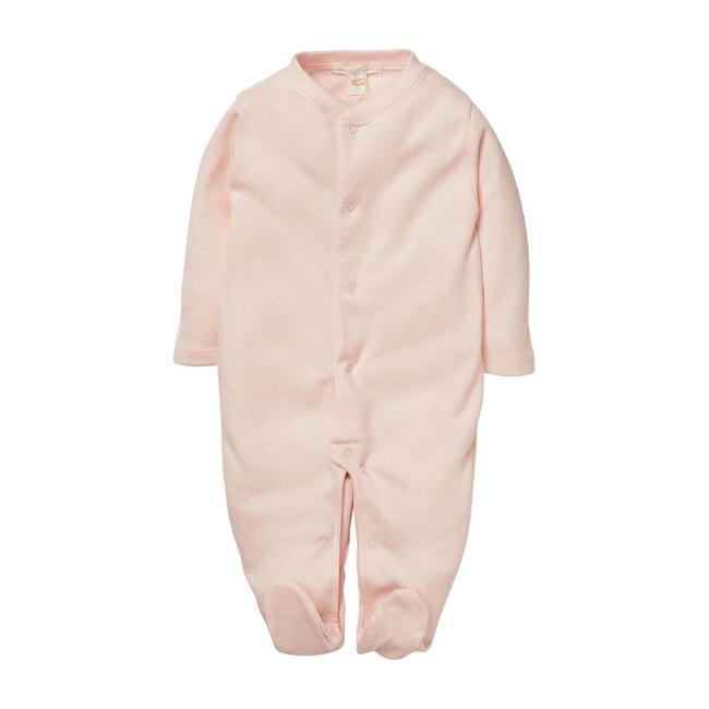 Pointelle Angel Wing Sleepsuit, Pink