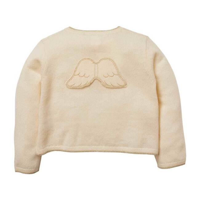 Briony Angel Wing Cardigan, Ivory