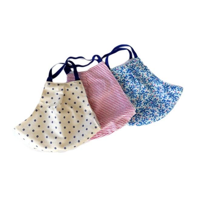 Mask Trio, Dots, Stripes, & Florals