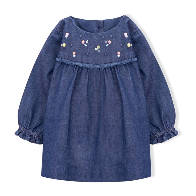 Jane Denim Dress, Navy