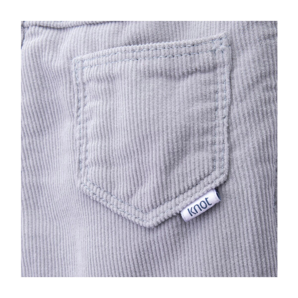 Jeremy Corduroy Trousers, High Rise Grey